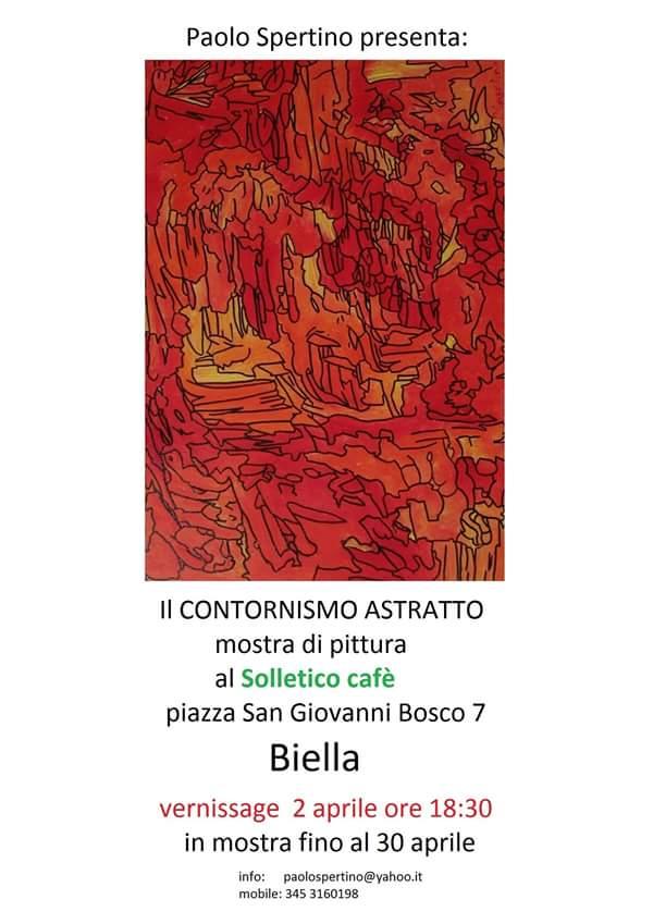 mostra comtorsionismo astratto Paolo Spertino