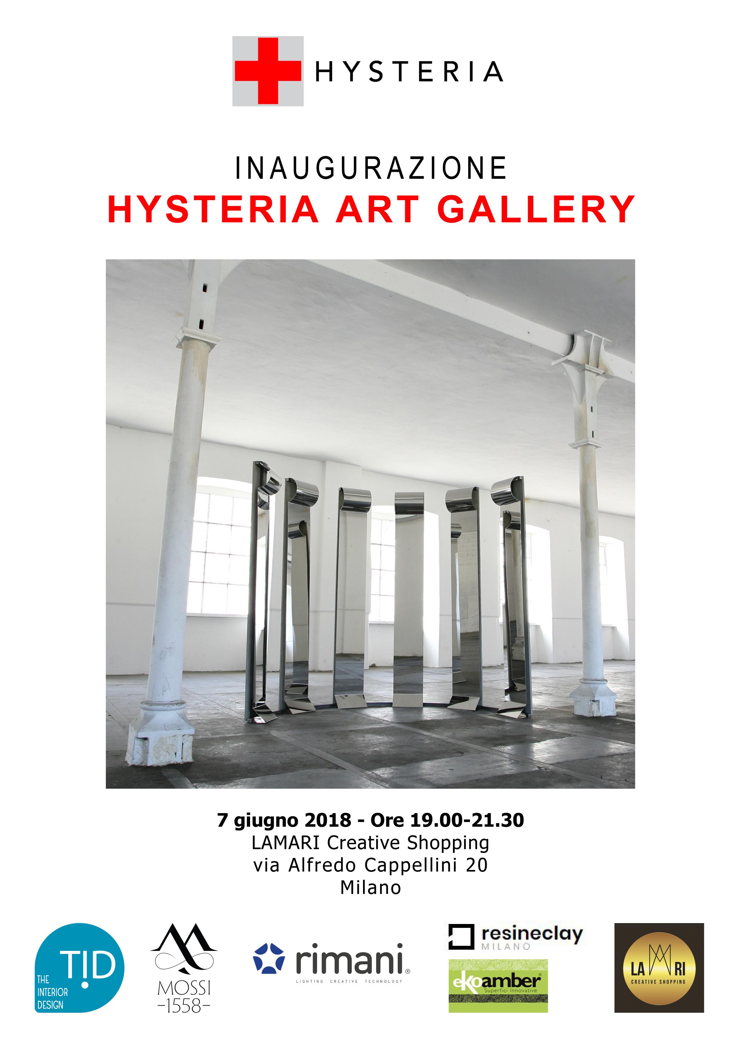 Daniele Basso Hysteria Art Gallery