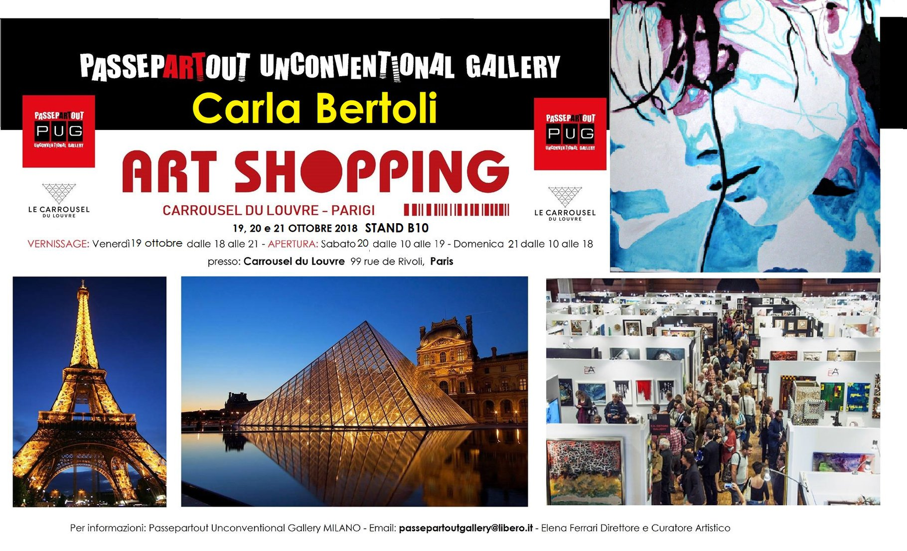 Carla Bertoli Passepartout Unconventional Gallery